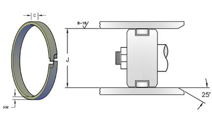 Steel Compression Ring Design